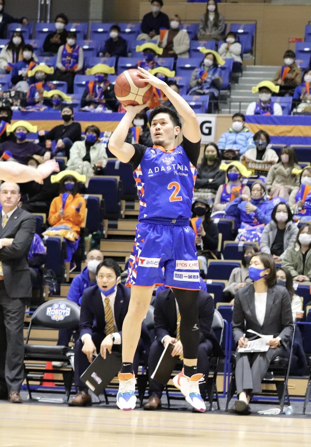 17得点を記録した福澤©Basketball News 2for1